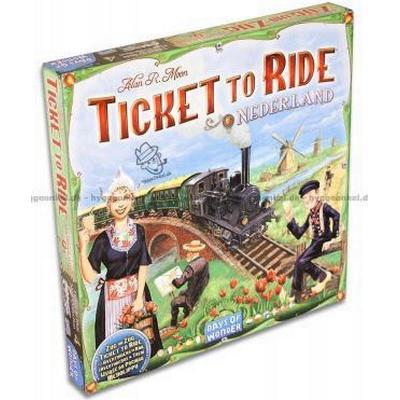 Ticket to Ride: Nederland Resespel