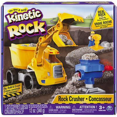 Spin Master Kinetic Rock Rock Crusher Playset