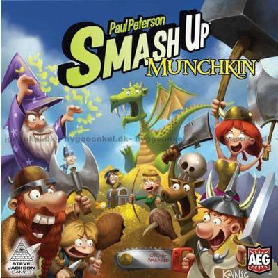 Smash Up: Munchkin (Engelska)