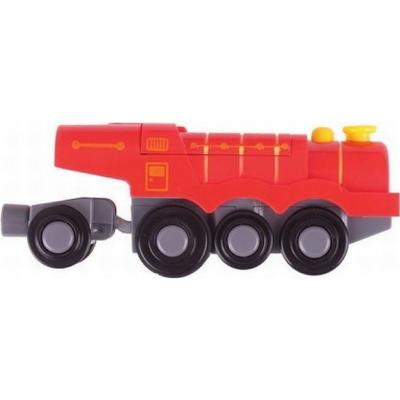 Bigjigs Big Red Steam Battery Operated Locomotive