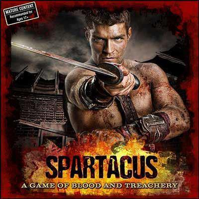 Spartacus: A Game of Blood & Treachery (Engelska)