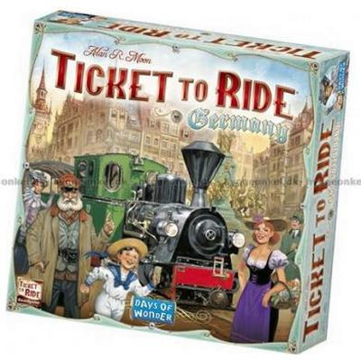 Ticket to Ride - Germany Resespel