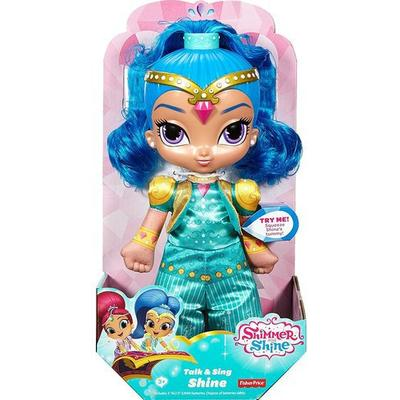 Fisher Price Shimmer & Shine Talk & Sing Shine Doll
