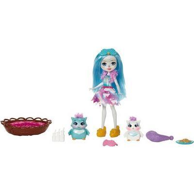Mattel Enchantimals Sleepover Night Owl Dolls
