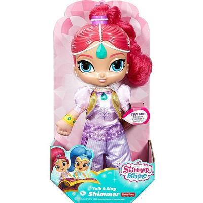Mattel Shimmer & Shine Talk & Sing Shimmer Doll
