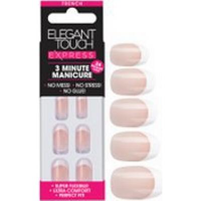 Elegant Touch Express French Oval Pink Nails 24-pack