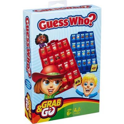 Hasbro Guess Who? Grab and Go Game (Engelska)