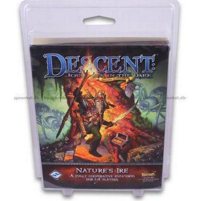 Fantasy Flight Games Descent: Journeys in The Dark: Descent: Nature's Ire (Engelska)