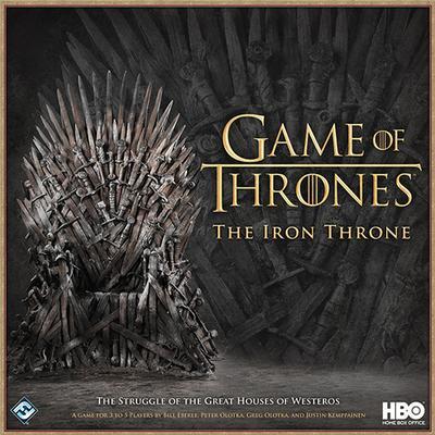Fantasy Flight Games Game of Thrones: The Iron Throne (Engelska)