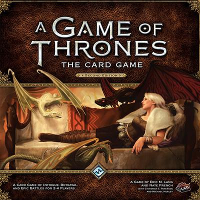 Fantasy Flight Games A Game of Thrones: The Card Game (Second Edition) (Engelska)