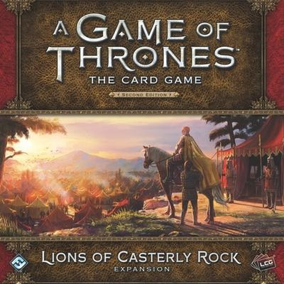 Fantasy Flight Games A Game of Thrones: The Card Game (Second Edition): Lions of Casterly Rock (Engelska)