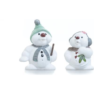 Klarborg Eluf & Elfi Snowmen 2015 Julpynt Prydnadsfigur