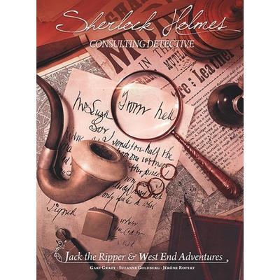Asmodee Sherlock Holmes Consulting Detective: Jack the Ripper & West End Adventures (Engelska)