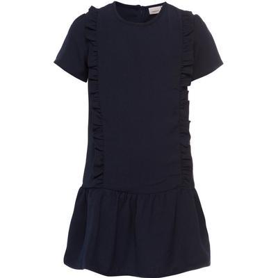 Name It Short Sleeved Flounce Dress - Blue/Sky Captain (13144520)