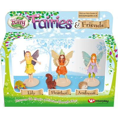 Interplay My Fairy Garden Fairies & Friends 3 Pack