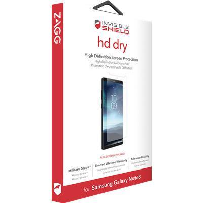 Zagg InvisibleShield HD Dry (Galaxy Note 8)