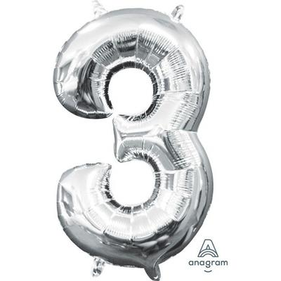 Balloner Sølv 1 stk