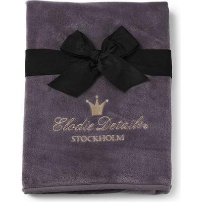 Elodie Details Pärlsammetsfilt Plum Love