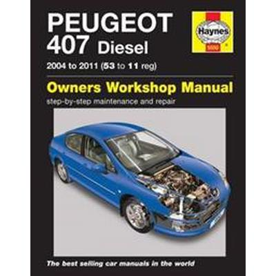 Peugeot 407 Service and Repair Manual (Häftad, 2014)