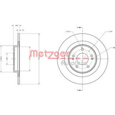 Metzger 6110741