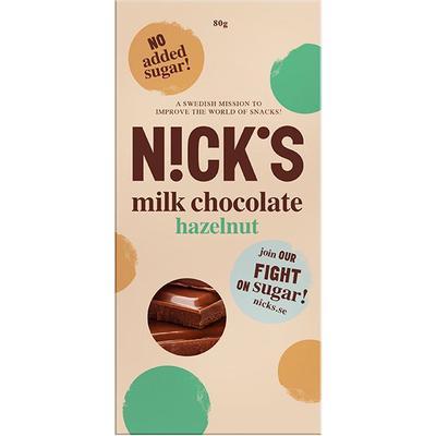 Nick's Mjölkchoklad med Hasselnötter