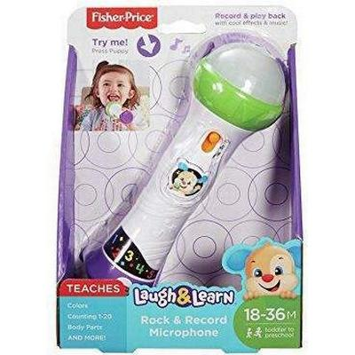 Fisher Price Laugh & Learn Rock & Record Microphone