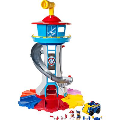 Spin Master My Size Lookout Tower with Exclusive Vehicle Rotating Periscope & Lights & Sounds