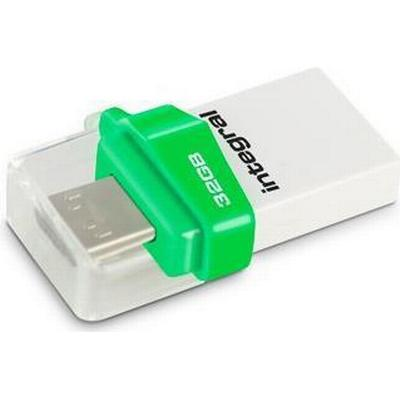 Integral Micro Fusion 32GB USB 3.0 Type-A/Type-Micro-B