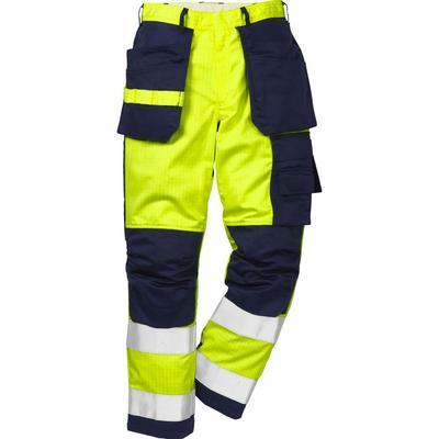 Fristads Kansas 2050 FBPA Flame High Vis Craftsman Trouser