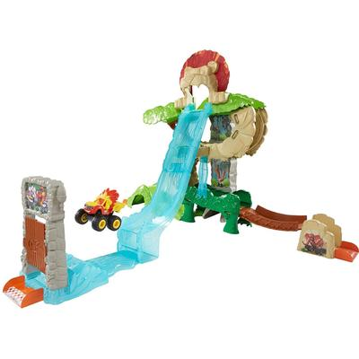 Fisher Price Blaze & the Monster Machines Animal Island Stunts Speedway