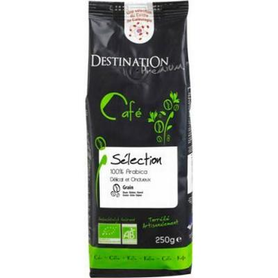 Destination Organic Coffee Selection Pure Arabicas Grain