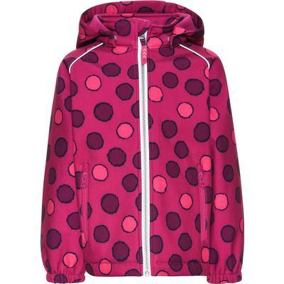 Name It Mini Alfa Purple-Spotted Softshell Jacket - Pink/Fuchsia Purple (13138285)