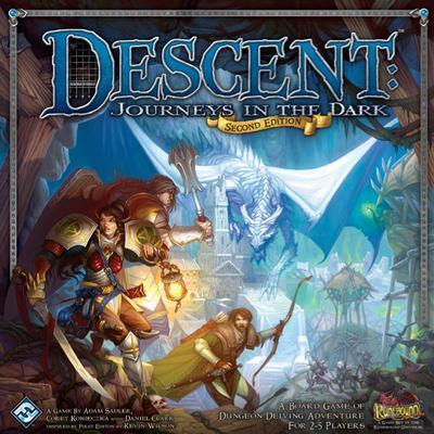 Fantasy Flight Games Descent: Journeys in the Dark Second Edition (Engelska)