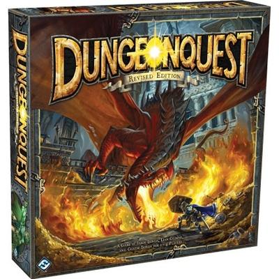 Fantasy Flight Games DungeonQuest Revised Edition