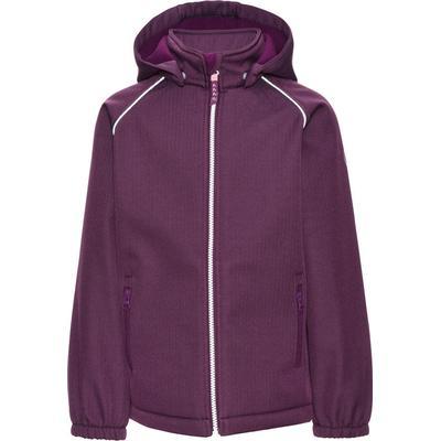 Name It Alfa Purple Softshell Jacket - Purple/Dark Purple (13139338)