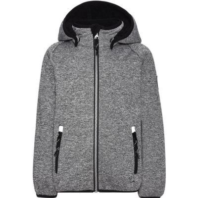 Name It Mini Beta Knitted Softshell Jacket - Grey/Grey Melange (13145595)