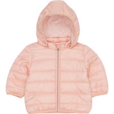 Name It Newborn Padded Jacket - Pink/Evening Sand (13143845)