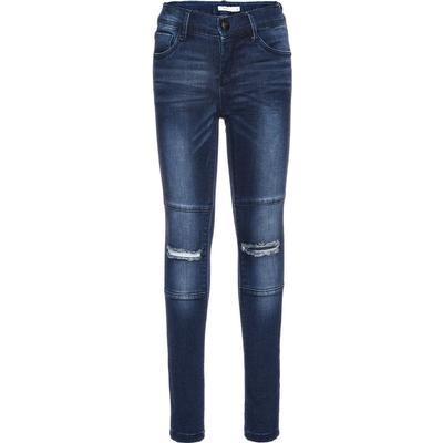 Name It Nittammy Dark Skinny Fit Jeans - Blue/Dark Blue Denim (13142298)
