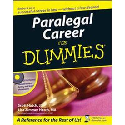 Paralegal Career for Dummies (Häftad, 2006)