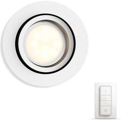 Philips Hue Milliskin With Hue Bridge Round Spotlight