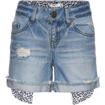 Name It Nitabelli Regular Denim Shorts - Blue/Light Blue Denim (13141536)