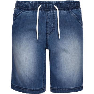 Name It Nitbecen Long Denim Shorts - Blue/Medium Blue Denim (13141181)