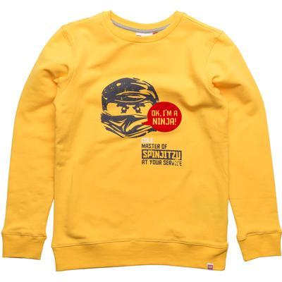 Lego Wear Saxton 725 Sweatshirt Ninjago - Dark Yellow