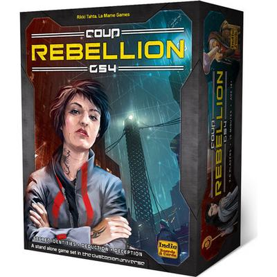 Indie Boards and Cards Coup: Rebellion G54 (Engelska)