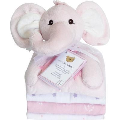 Piccolo Bambino Cuddly Pal Elephant & 3 Blankets
