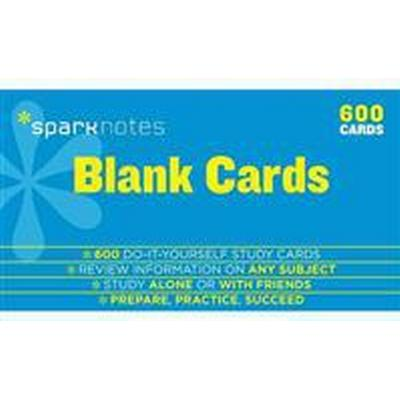 Blank Study Cards Sparknotes Study Cards (Pocket, 2014)