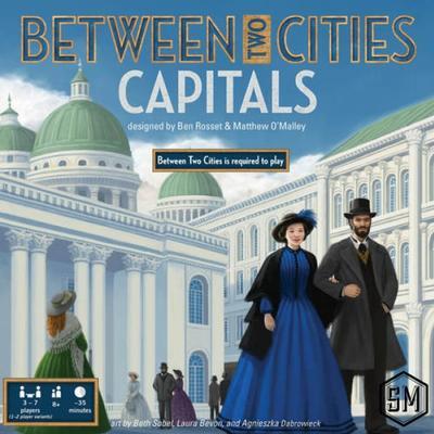 Stonemaier Between Two Cities: Capitals