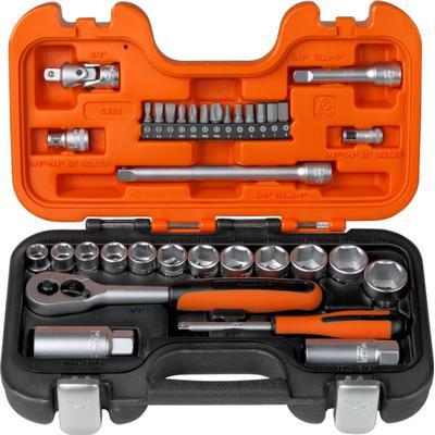 Bahco S330 Stiknøgle Set 34-enheder