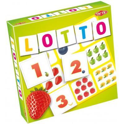 Tactic Lotto Siffror & Frukter