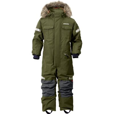 Didriksons Migisi Kids Coverall - Peat (152500631161)